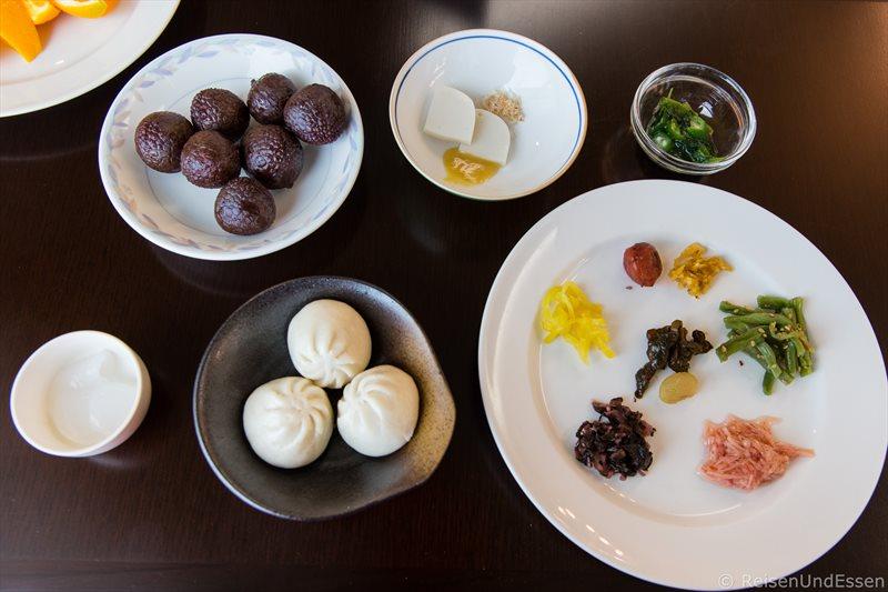 Frühstück im Hotel Green Plaza Hakone