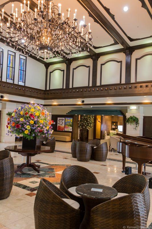 Lobby im Hotel Green Plaza Hakone