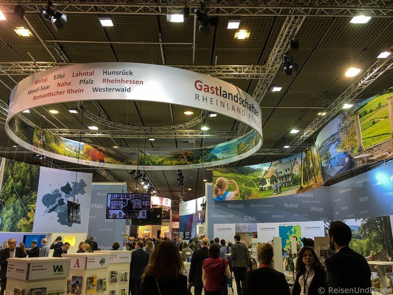 Stand von Rheinland Pfalz bei den Highlights auf der ITB 2017