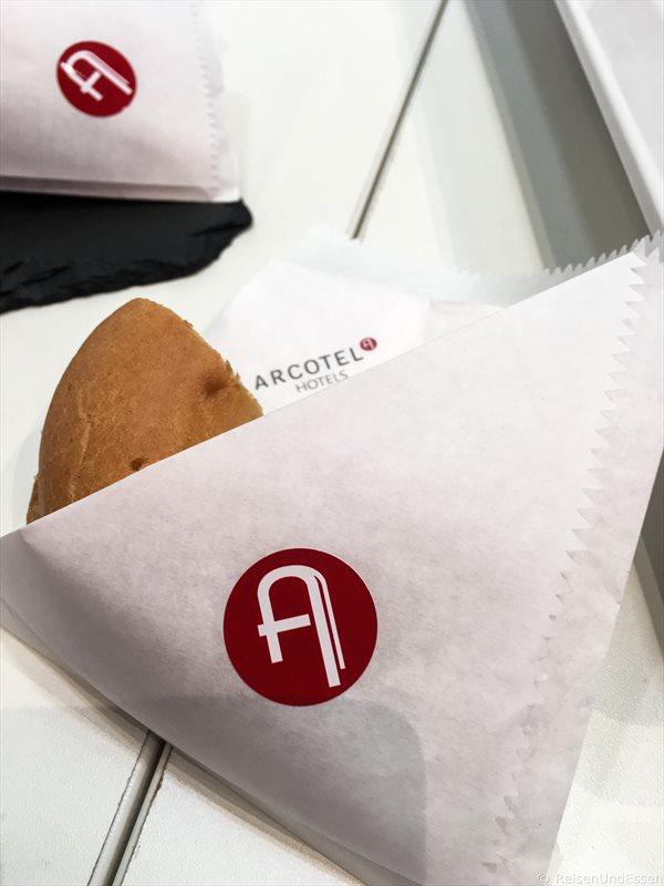 Imbiss bei Arcotel auf der ITB 2017