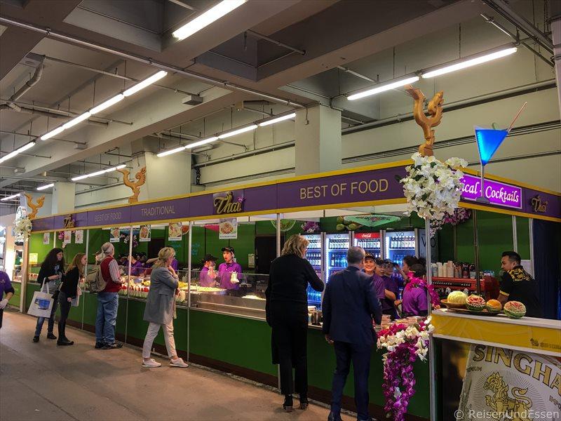 Thaifood bei den Highlights auf der ITB 2017