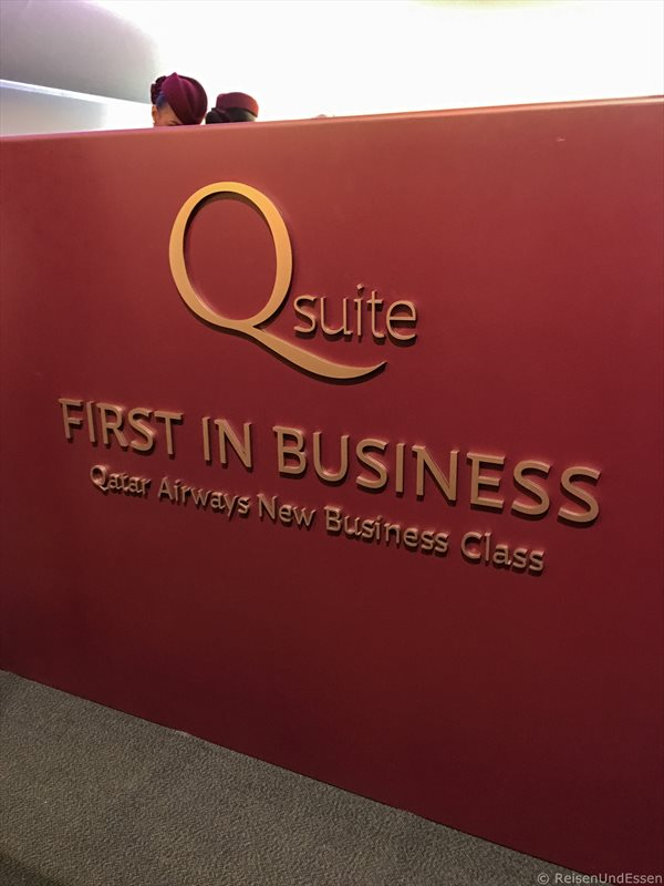 Q-Suite bei First in Business von Qatar - Highlights auf der ITB 2017