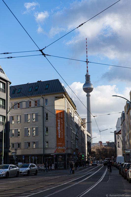 Kulinarische Tour Berlin Mitte - Blick auf Berliner Fernsehturm