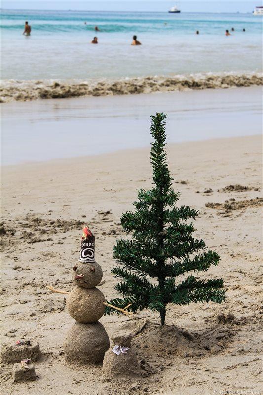 Weihnachten am Kata Beach auf Phuket