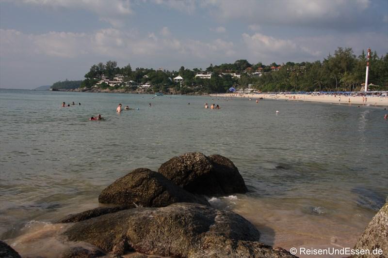 Bucht vom Kata Noi Beach