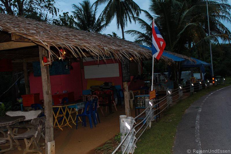 Typisches thailändisches Restaurant