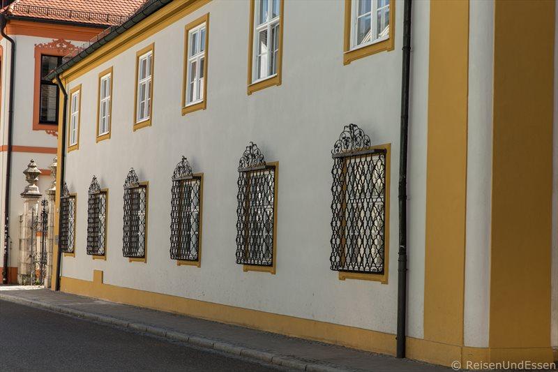 Hausfassade in der Ostenstrasse in Eichstätt