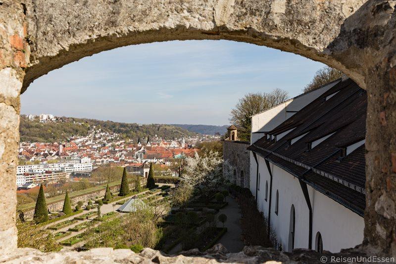 Blick von der Willbaldsburg auf Eichstätt