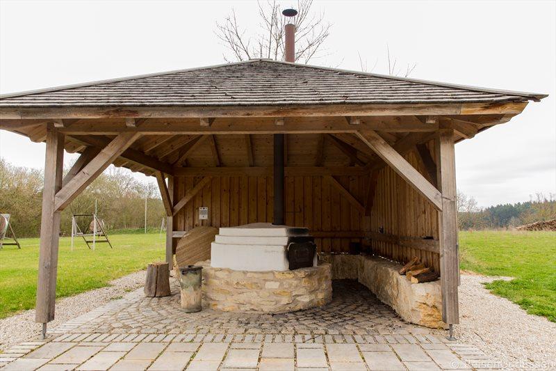 Auf den Spuren der Römer im Naturpark Altmühltal - Römischer Backofen in Erkertshofen