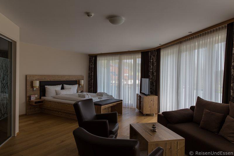 Junior Suite beim Wohlfühlwochenende im Hotel Dirsch in Emsing