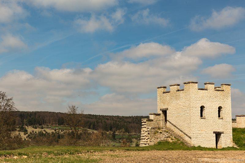 Auf den Spuren der Römer im Naturpark Altmühltal - Kastell in Pfünz
