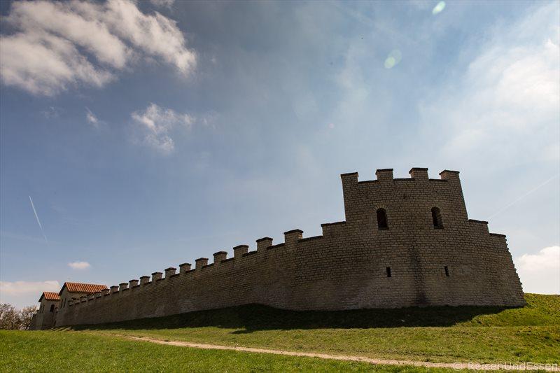 Auf den Spuren der Römer im Altmühltal - Kastell in Pfünz