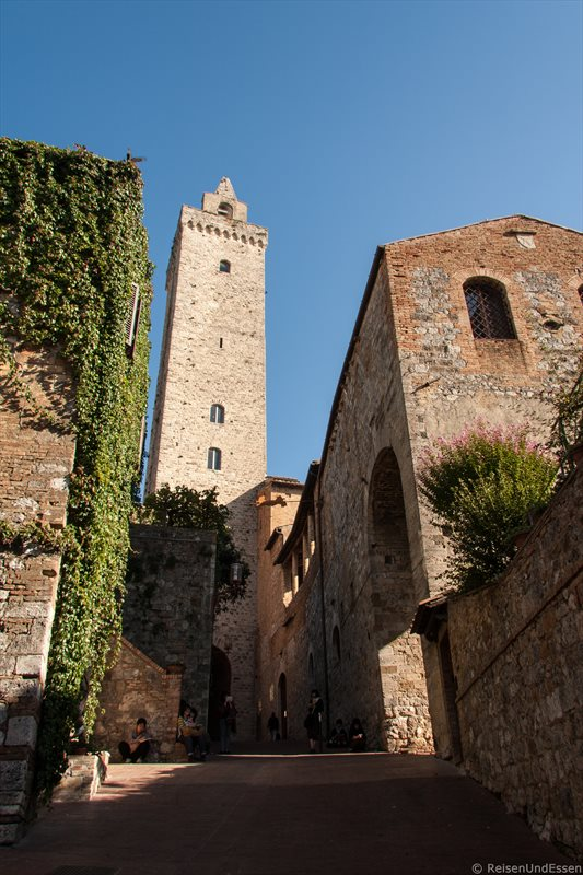 Torre Grossa und Museo d'Arte Sacra