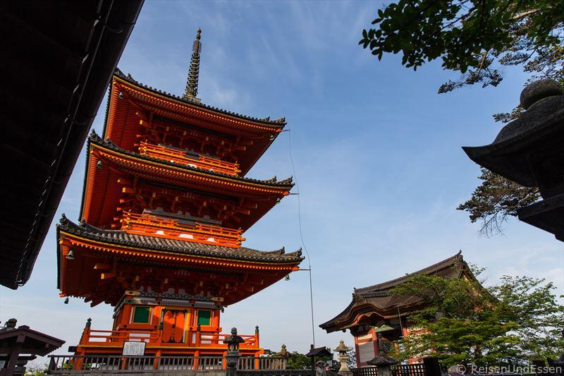 Sanjuntoto-Pagode in Kiyomizu-dera