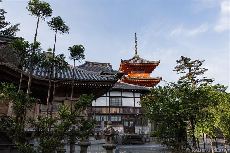 Tempelanlage Kiyomizu-dera in Kyoto