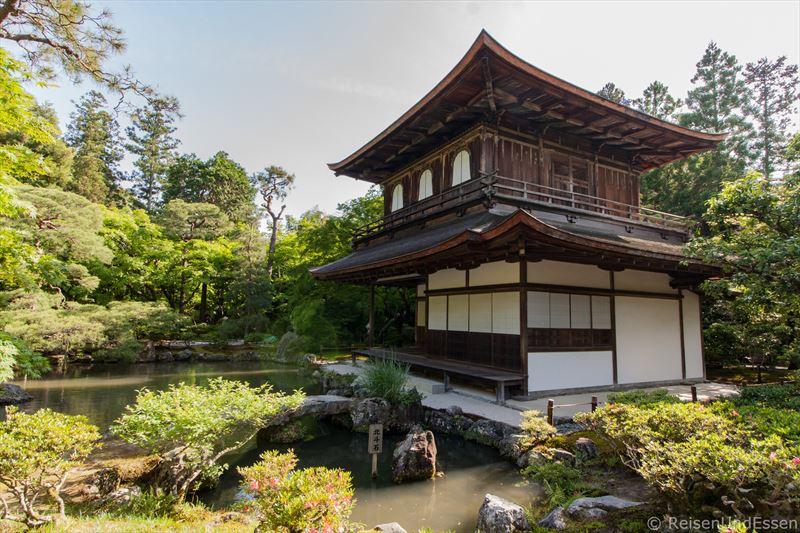 Ginkaku-ji oder Tempel des silbernen Pavillons