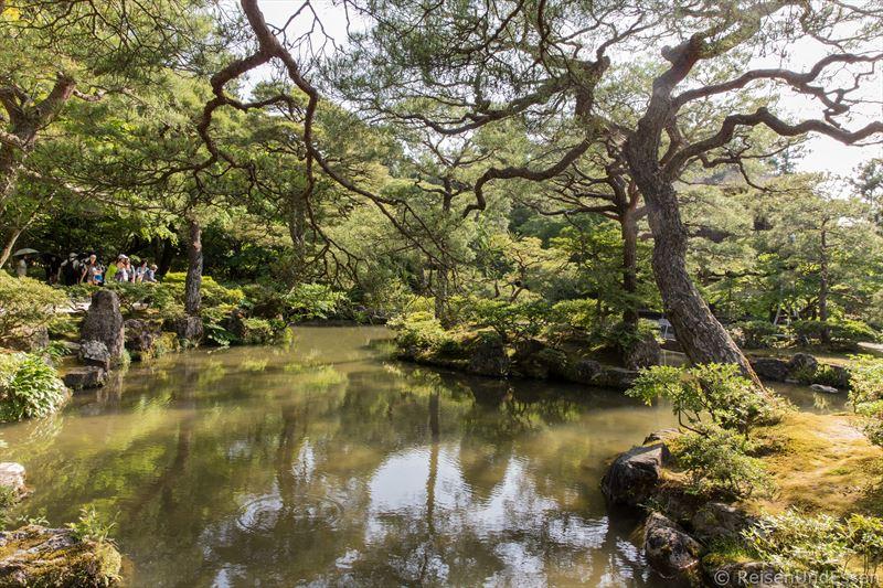 Japanischer Garten im Ginkaku-ji