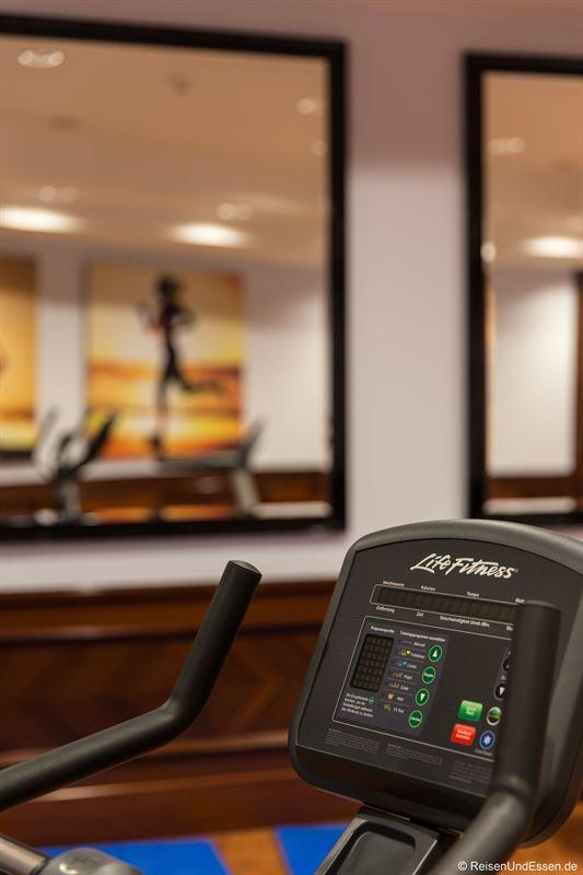 Fitnessraum im Maritim Hotel Ulm