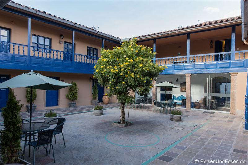 Innenhof im Hotel Tierra Viva San Blas