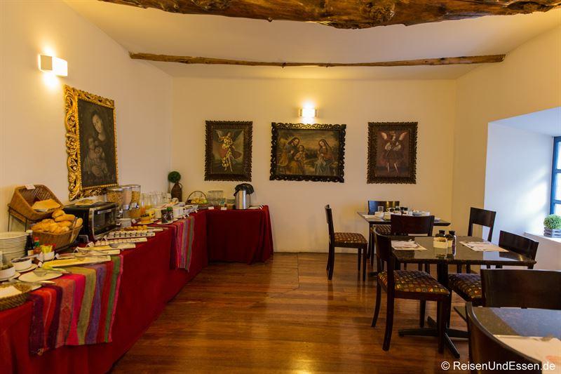 Frühstücksraum im Hotel Tierra Viva San Blas