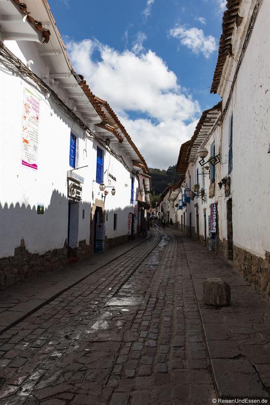 Gasse im Künstlerviertel San Blas in Cuzco