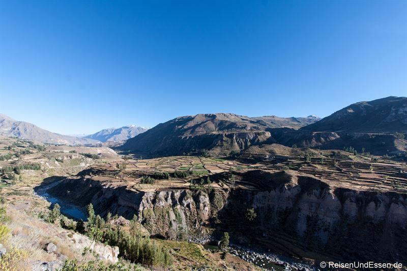 Colca Canyon in Richtung Cruz del Condor