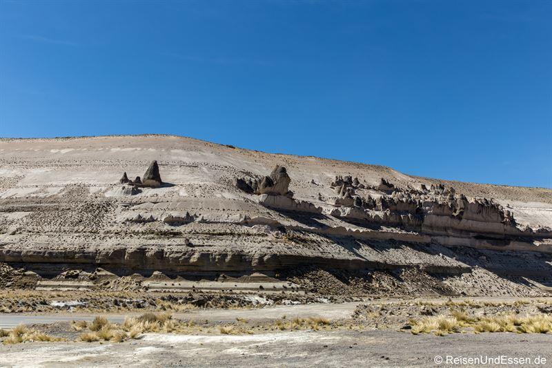 Vulkangestein bei Patahuasi