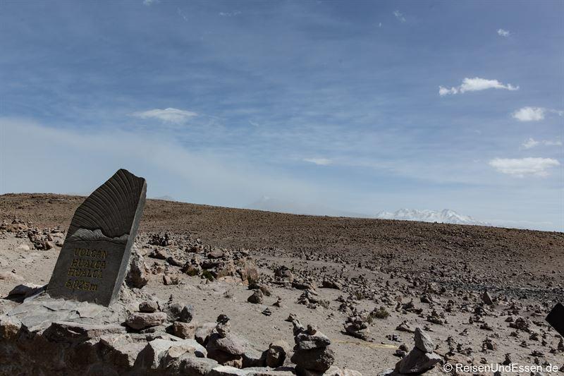 Steinmännchen am Mirador de los Andes