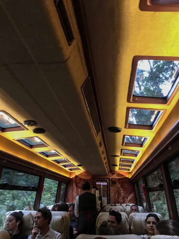 Wagen der 2. Klasse von Inca Rail