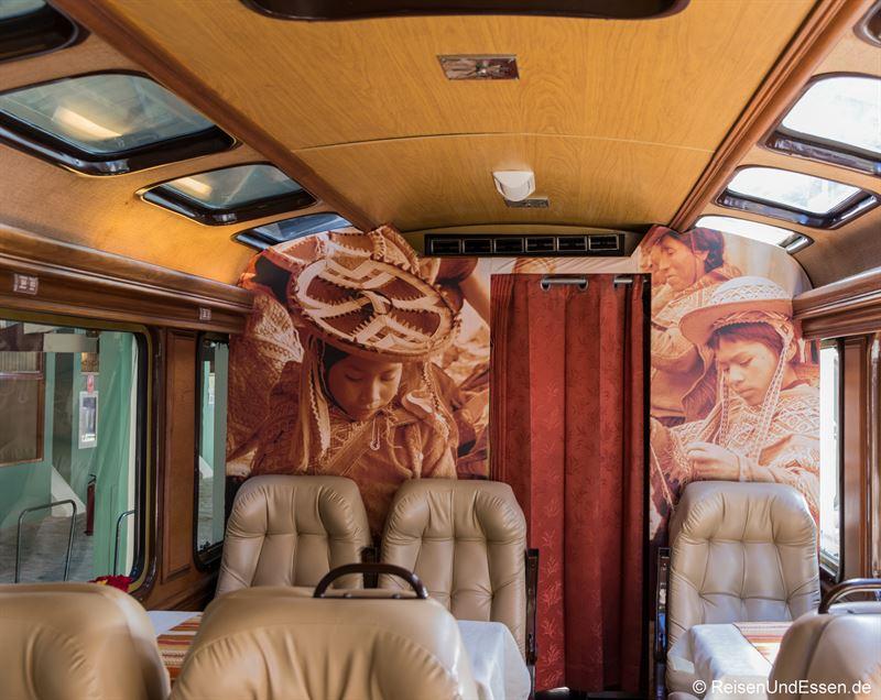Wagen der 1. Klasse von Inca Rail