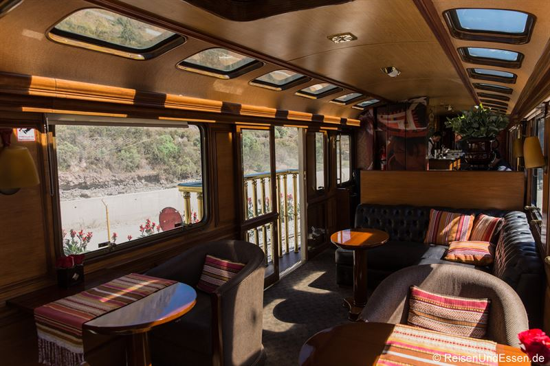 Salonwagen von Inca Rail