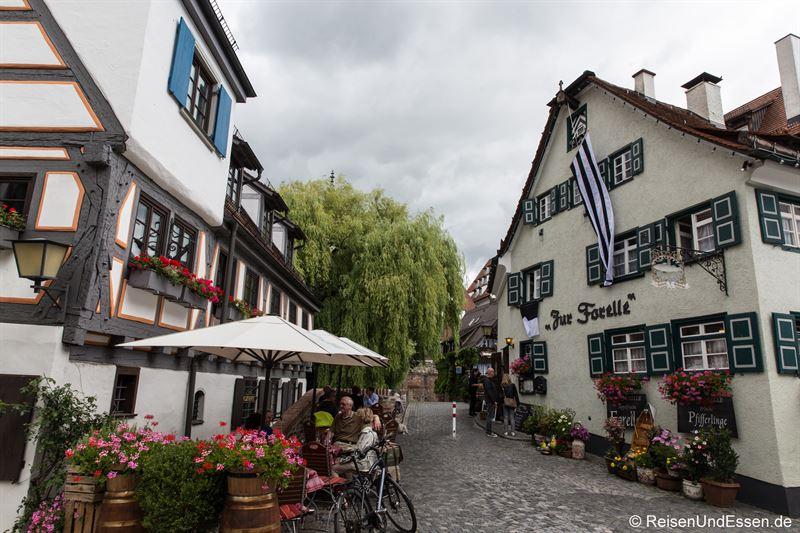 Gaststätten im Fischerviertel in Ulm