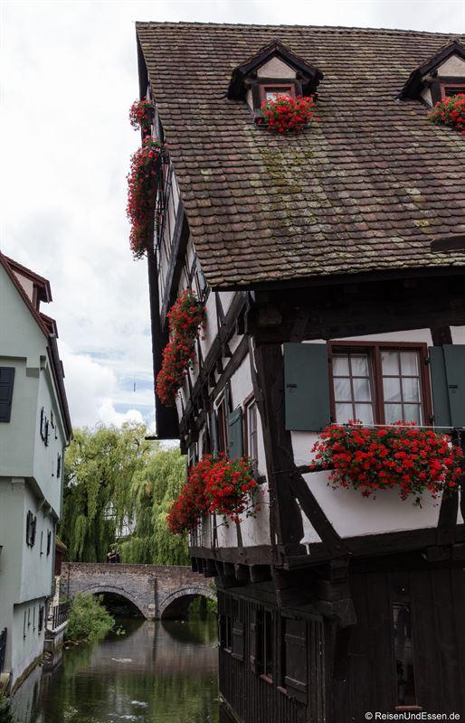 Hotel Schiefes Haus im Fischerviertel in Ulm