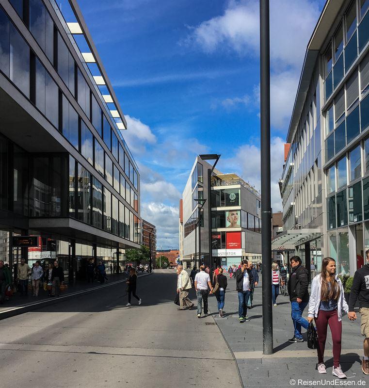 Modernes Ulm in der Neue Strasse
