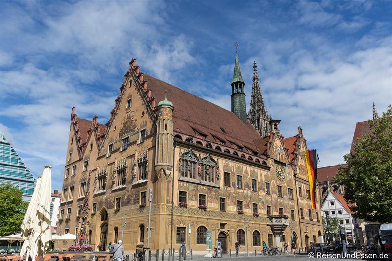 Rathaus in Ulm - Stadtführung durch Ulm