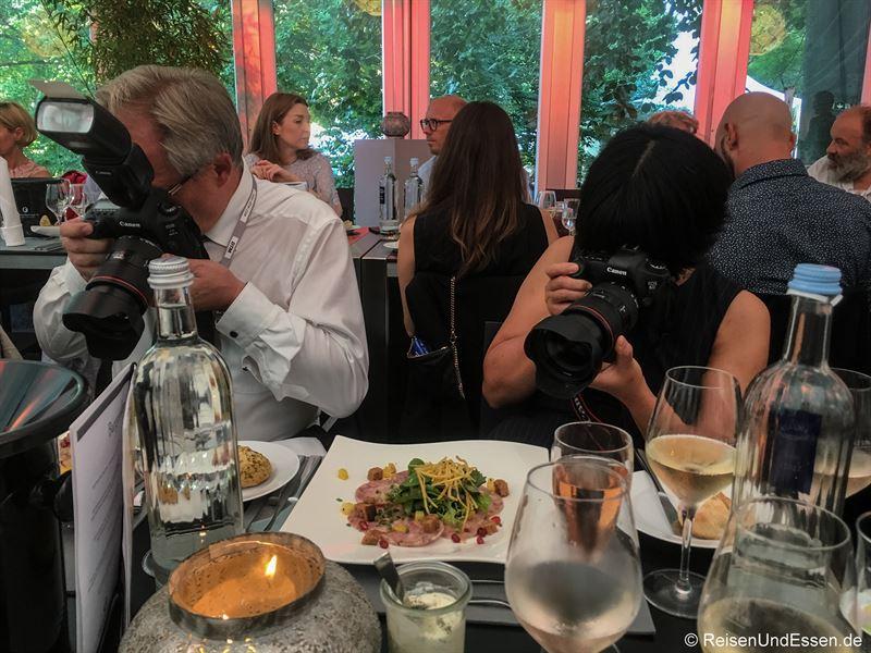 Presse- und Blogarbeit beim Burgunder Kulinarium in Worms