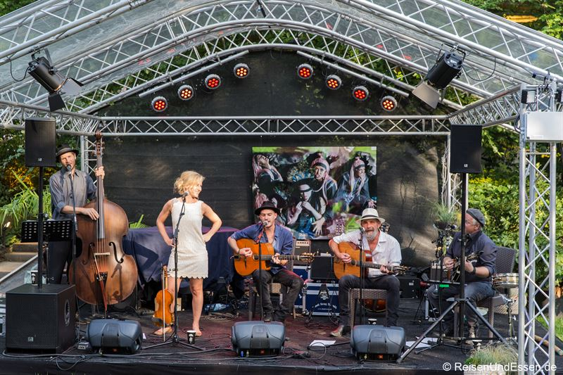 Livemusik im Heylshof bei den Nibelungenfestspielen