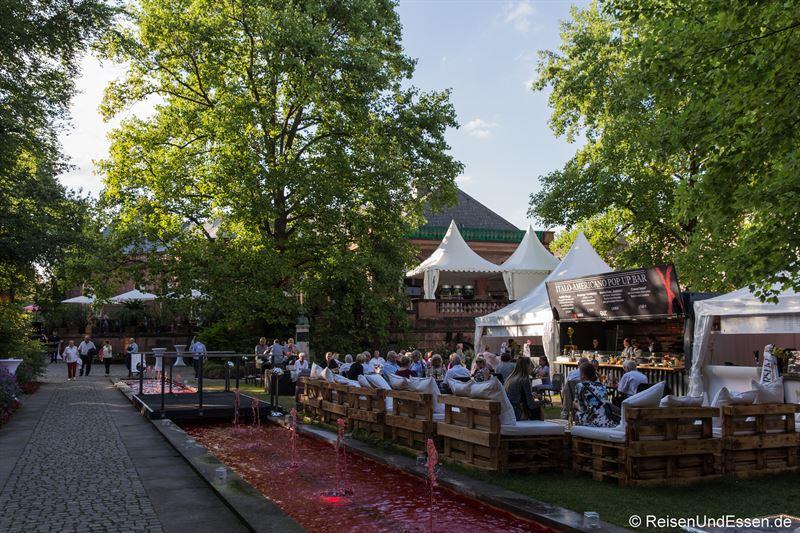 Italo Americano Pop-up Bar im Heylshof bei den Nibelungenfestspielen