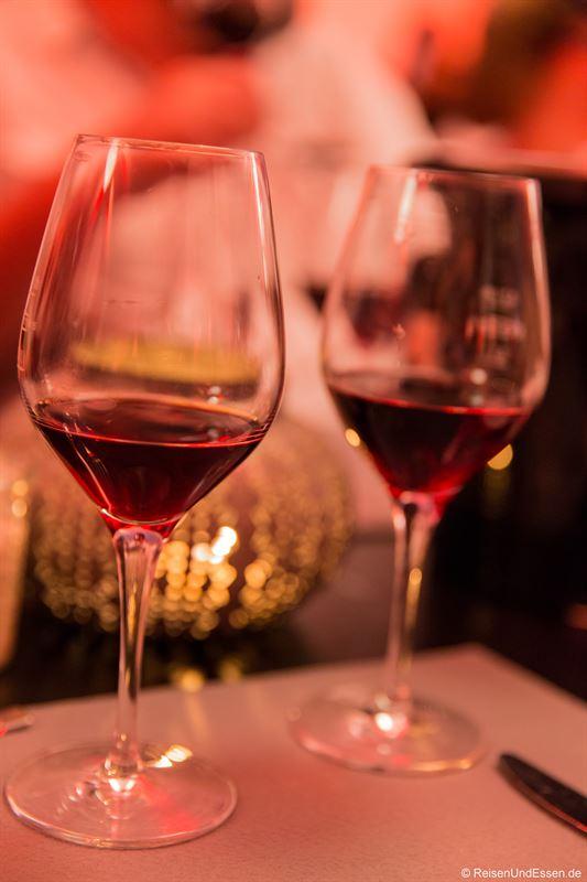 Rotweine beim Burgunder Kulinarium in Worms