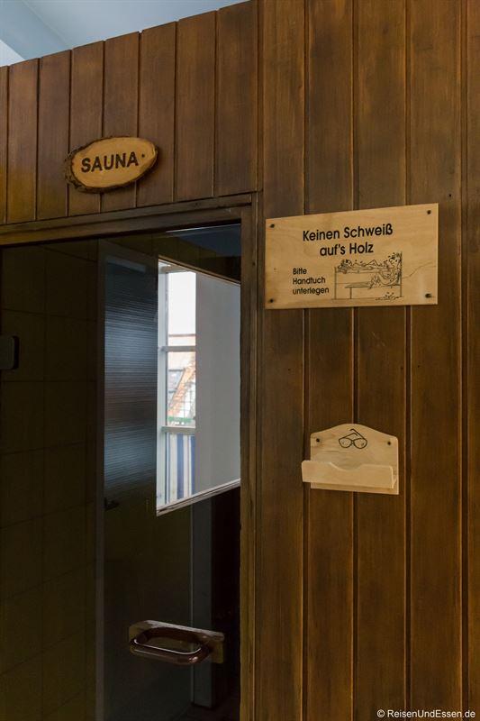 Sauna im Maritim Hotel München