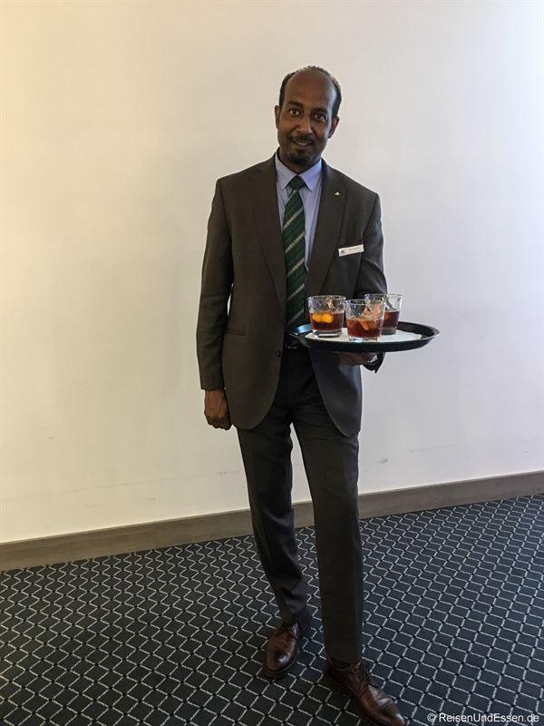 Welcome-Drink zu Taste Moments im Maritim München
