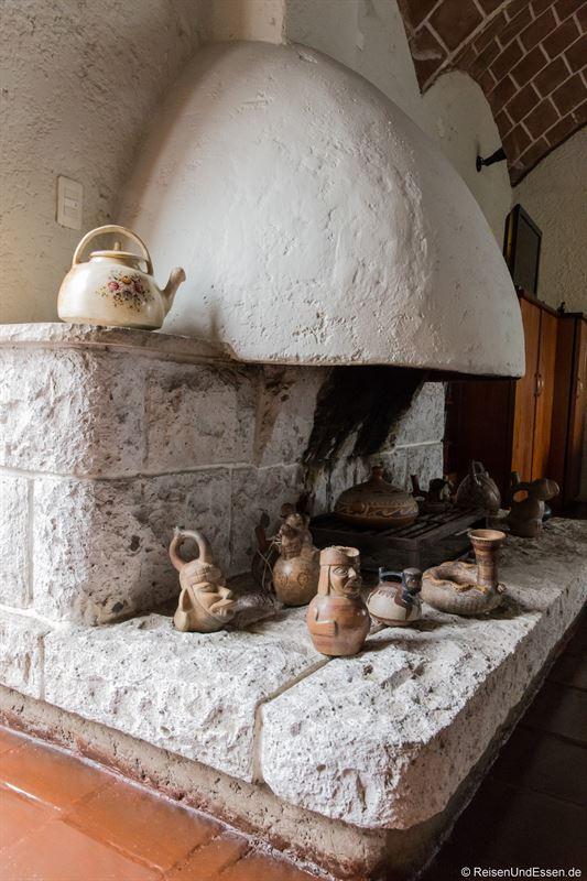 Außergewöhnliche Suite in Lima mit offenen Kamin