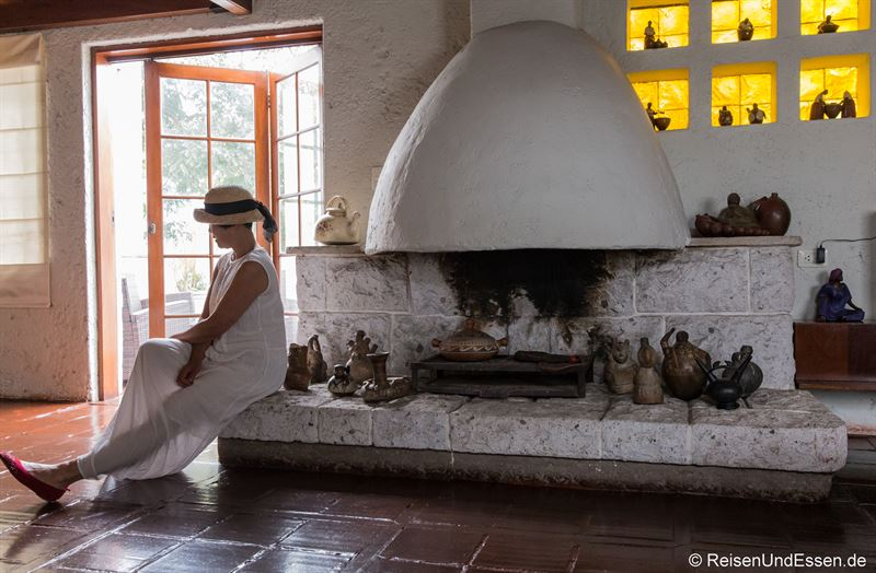 Außergewöhnliche Suite in Lima mit Kamin und Terrasse