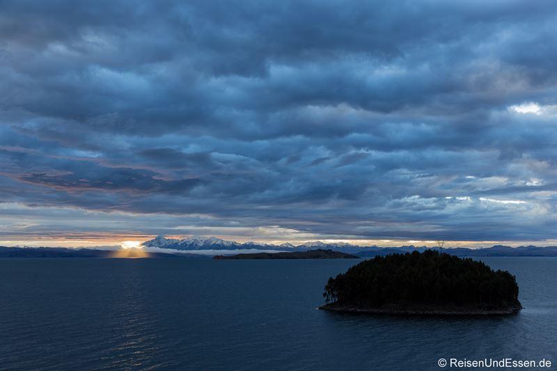 Sonnenaufgang auf der Isla del Sol