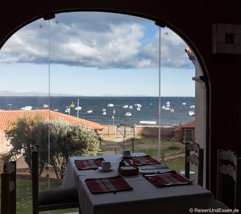 Frühstück mit Aussicht auf die Bucht von Copacabana