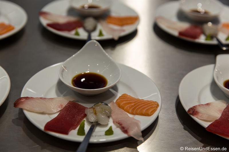 Sushi im Frischeparadies