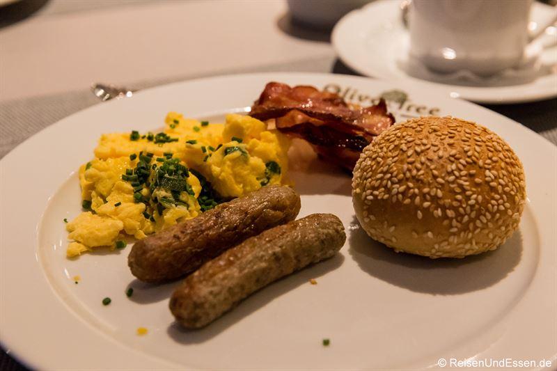 Frühstück im Mercure Hotel Mannheim am Rathaus