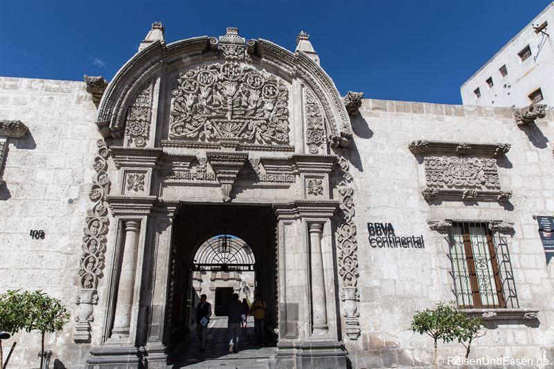 Fassade - Sehenswürdigkeiten von Arequipa