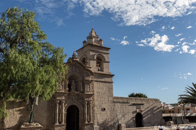 Kirche Bautista de Yanahuara in Arequipa