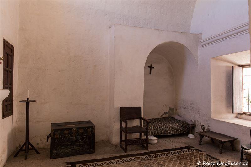 Zelle für eine Nonne im Kloster Santa Catalina in Arequipa